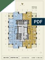 W PRIME - תוכנית קומות 35-40