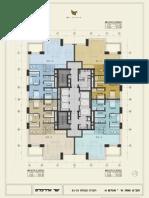 תוכנית קומות 32-34 W פריים