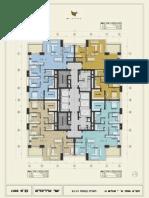 מגדל W PRIME - תוכנית קומות 23-31
