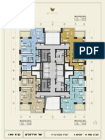 פרויקט W פריים - תוכנית קומות 17-22