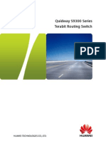 Quidway S9300 Series Terabit Routing Switch Brochure[1]