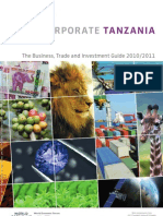Corporate Tanzania 2011 (excerpt)