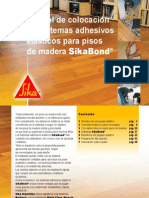 Manual de colocación pisos de madera con adhesivos
