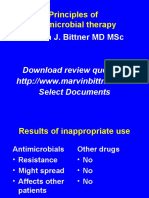 21 22 Principles of Antimicrobial Therapy