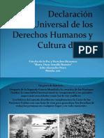 Derechos Humanos y Cultura de Paz