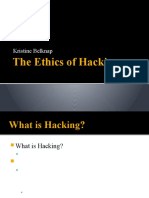The Ethics of Hacking