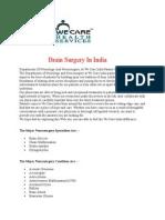 Brain Surgery in India at Mumbai and Delhi at Affordable Cost