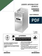 Lennox G40UH Manual