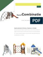 Speeltoestellen - Speelcombinaties Klimmen, Klauteren & Glijden (Benito)