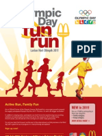 Olympic Day Run 2011 Form