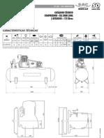 Compressor Shulz CSL 20BR 200L Manual