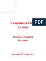 Co-operative Press Annual Report 2010-11