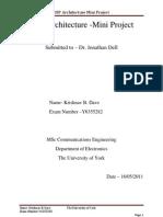 DSP Mini Projext