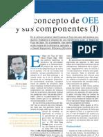 Concepto de OEE