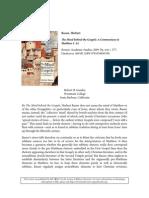 Gundry - Review of Basser