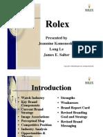 Rolex Branding