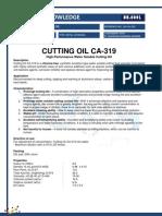 CA-319 Cutting Oil