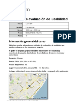 Curso BCN Métodos de evaluación de usabilidad