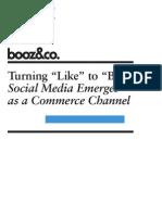 Booz and Company - Turning Like to Buy
