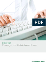 Strieplan - Planungs- und Kalkulationssoftware