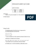 Drumurirea de Nivelment Geometric Sprijinita La Capete