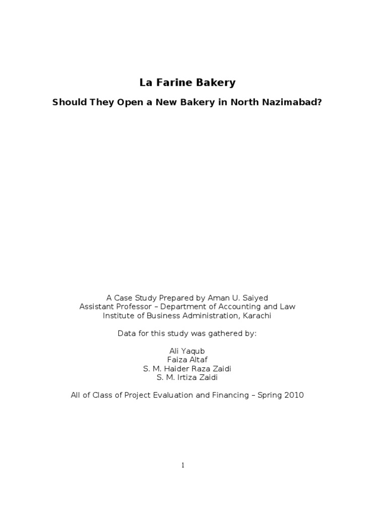 lafarine | Procurement | Inventory