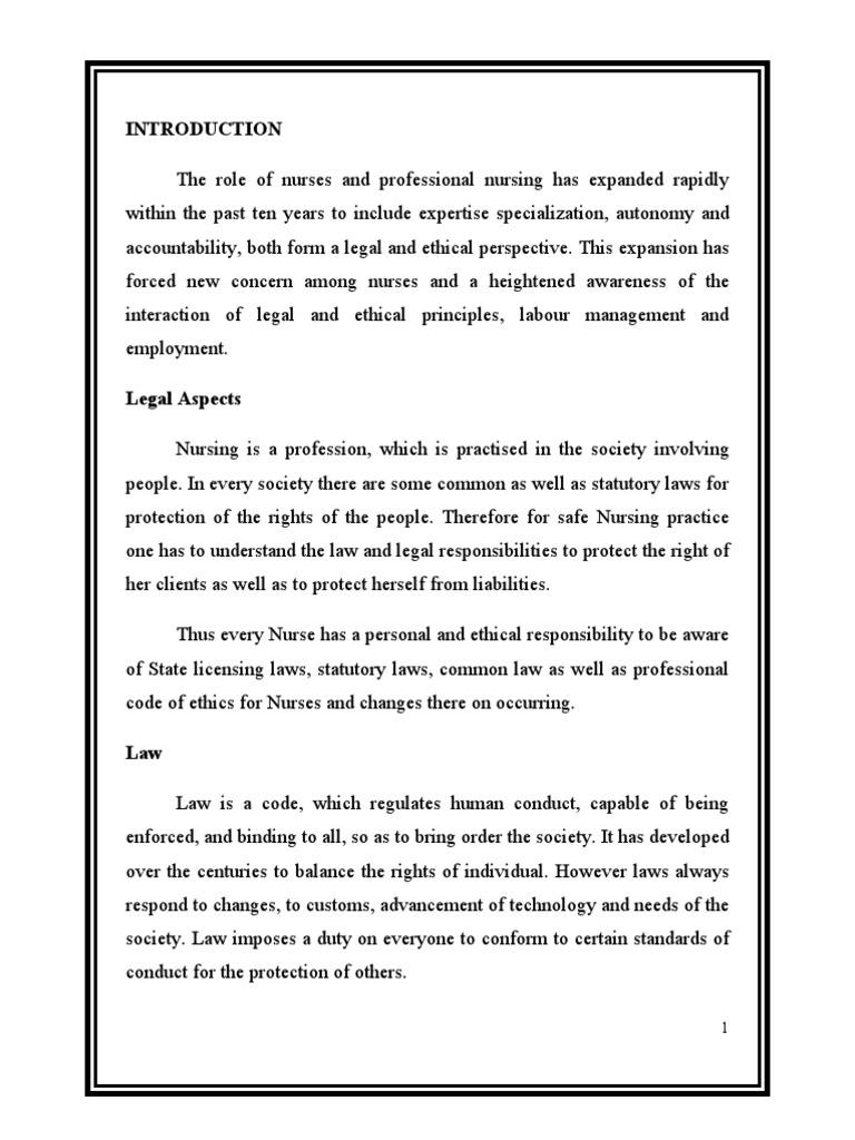 Legal responsibility of nurse nursing negligence fandeluxe Choice Image