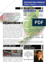 AIESEC UUM Newsletter November 2010