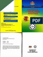Handbook of Halal Food Additives