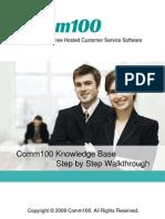 Knowledge Base Step by Step Walk Through