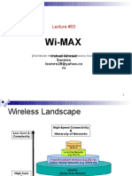 Lecture 03 WiMAX