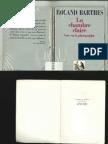 La Chambre Claire - Roland Barthes
