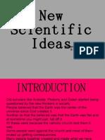 New Scientific Ideas