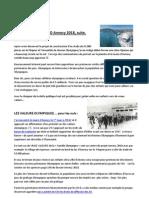 Libre Opinion (Suite) Sur Les JO Annecy 2018