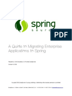 Migrating Apps to Spring