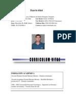 Curriculum Duarte Abel Conocimientos