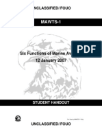 JTAC IMI Six Functions of Marine Aviation