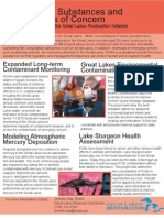 Toxic Substances and Areas of Concern funded by the Great Lakes Restoration Initiative