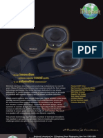McIntosh MSS630 Car Speaker Manual