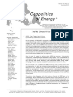 Geopolitics of Energy - December 2010