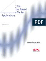 WP-19 Re-Examining the Suitability of the Raised Floor for Data Center Applications