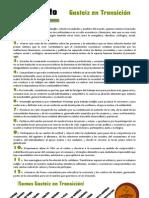 Manifiesto Gasteiz en Transición