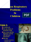 Respiratory Diseases Summary MBBS