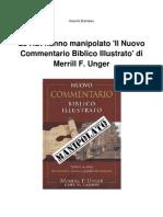 Le ADI hanno manipolato 'Il Nuovo Commentario Biblico Illustrato' di Merrill F. Unger