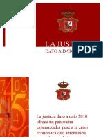 Presentación Justicia Dato a Dato_2010
