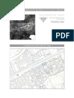 Ua.15.Calle Rio Tietar.Plan de ordenación municipal de Toledo. Páginas del Polígono