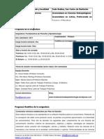 Programa FFyE 2011