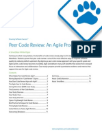 Peer Code Review an Agile Process