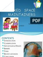 Fixed Space Maintainers