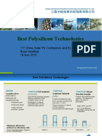 Best Polysilicon Technologies Russ Hamilton